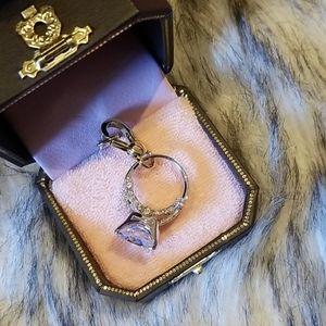 NIB Engagement Ring Charm